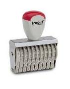 Ручные ленточные нумераторы TRODAT Classic с ручной сменой номера