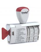 Датеры с бухгалтерскими терминами TRODAT Classic