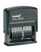 Напівавтоматичні нумератори TRODAT